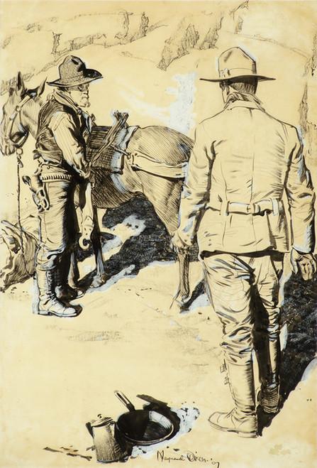 Art Prints of Prospectors by Maynard Dixon