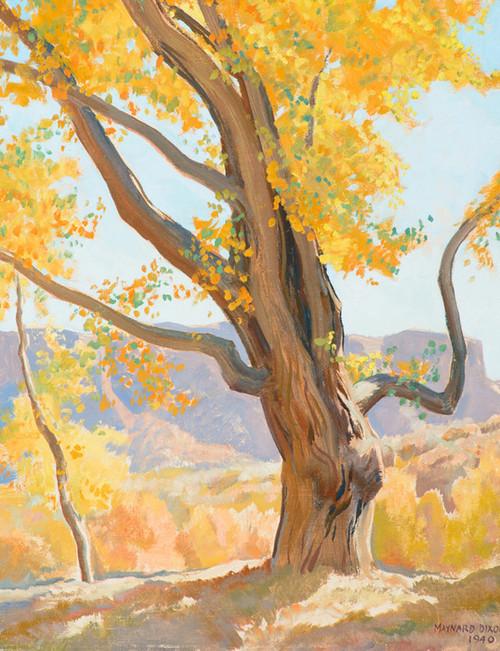 Art Prints of October Morning by Maynard Dixon