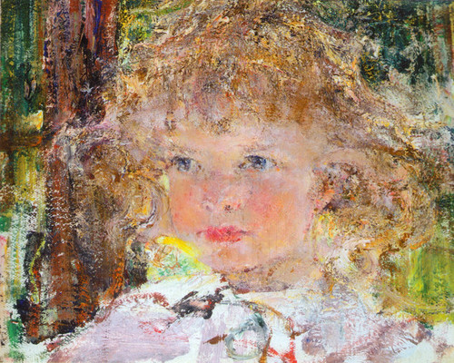 Art Prints of Portrait of Daughter Lee by Nicolai Fechin