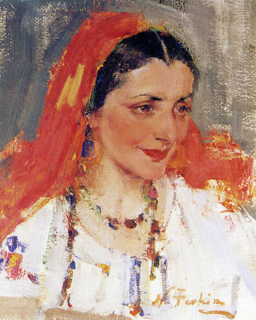 Art Prints of Russian Lady by Nicolai Fechin