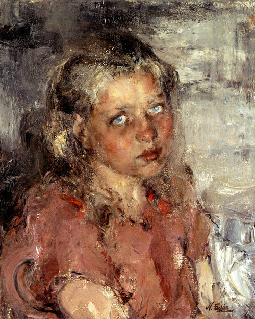 Art Prints Of Young Girl By Nicolai Fechin