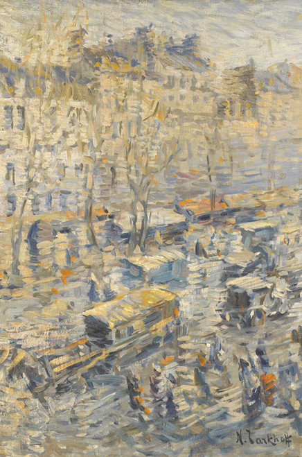Art Prints of Parisian Boulevard by Nikolai Aleksandrovich Tarkhov