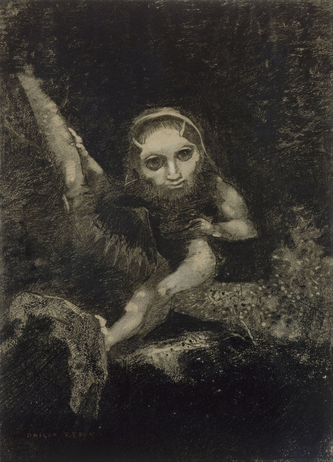 Art Prints of Caliban by Odilon Redon