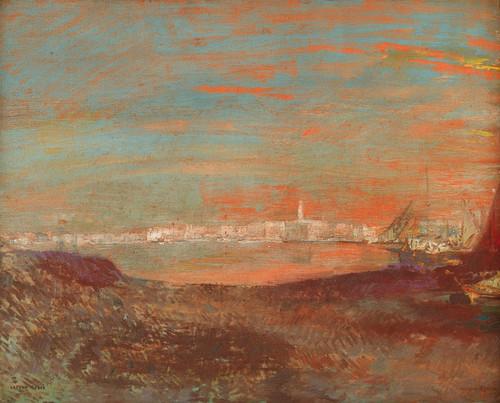 Art Prints of Italian Landscape by Odilon Redon