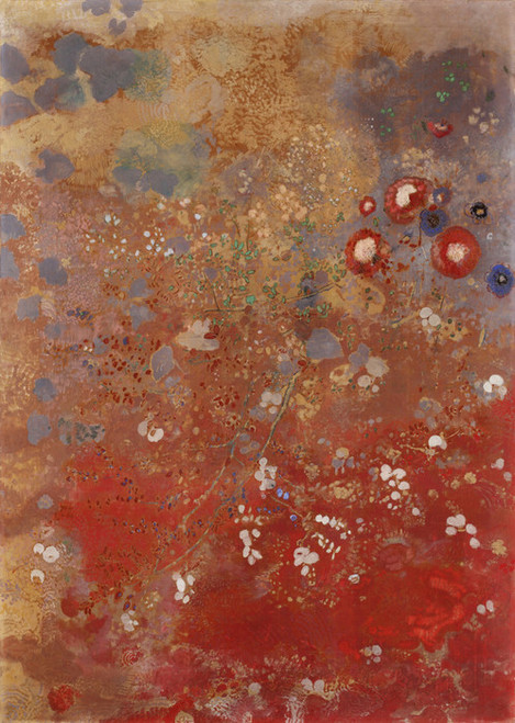 Art Prints of Ideal Landscape at the Grand Palais by Odilon Redon
