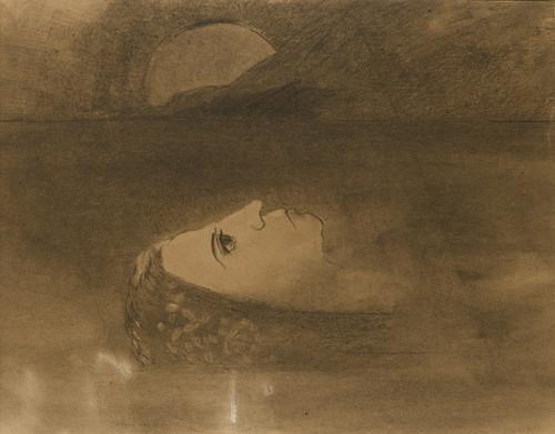 Art Prints of Ophelia by Odilon Redon