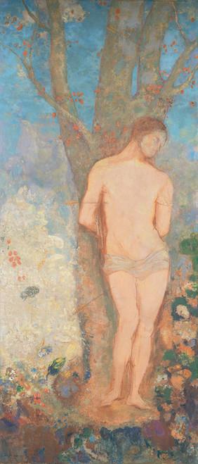 Art Prints of Saint Sebastian by Odilon Redon