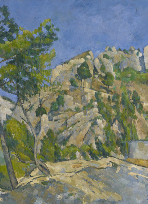 Art Prints of Bottom of the Ravine by Paul Cezanne