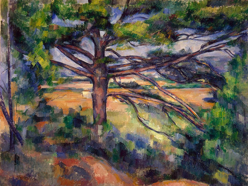 Art Prints of Large Pine by Paul Cezanne