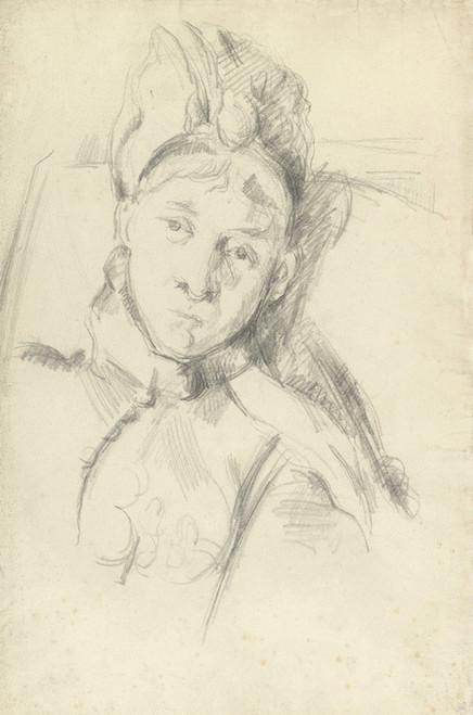 Art Prints of Portrait of Hortense Cezanne by Paul Cezanne