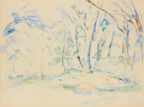 Art Prints of Sous Bois or Undergrowth by Paul Cezanne