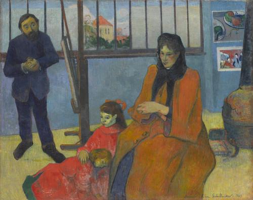 Art Prints of Schuffeneckers Studio by Paul Gauguin