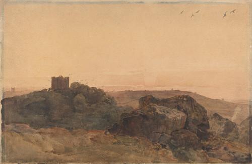 Art Prints of Bolton Castle by Peter De Wint