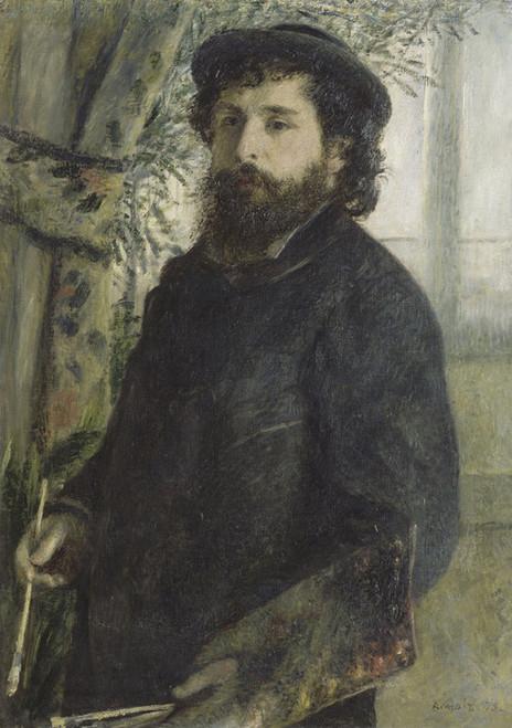 Art Prints of Claude Monet by Pierre-Auguste Renoir