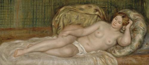Art Prints of Large Nude by Pierre-Auguste Renoir