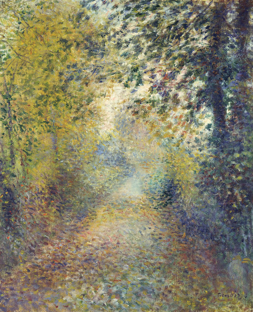 Art Prints of In the Woods by Pierre-Auguste Renoir
