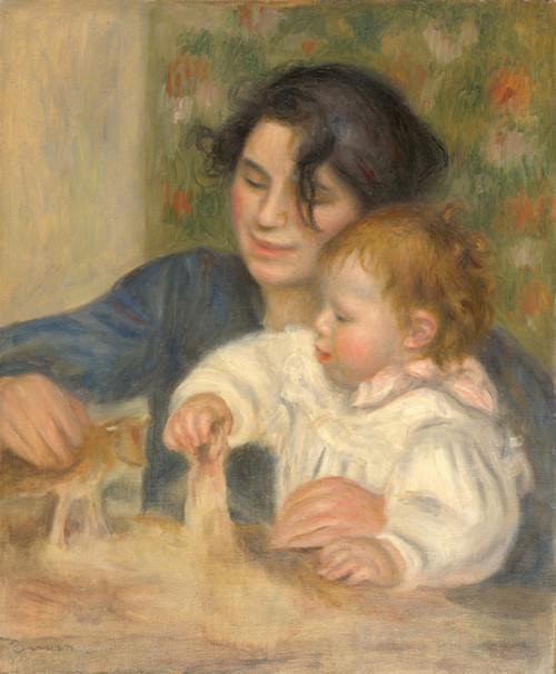 Art Prints of Gabrielle and Jean by Pierre-Auguste Renoir