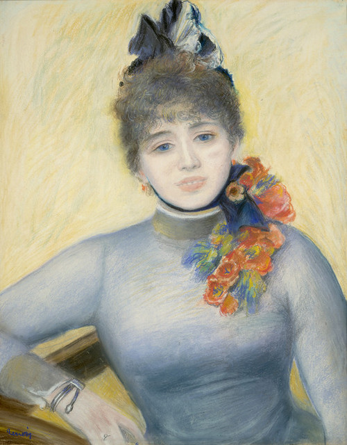 Art Prints of Caroline Remy or Severine by Pierre-Auguste Renoir