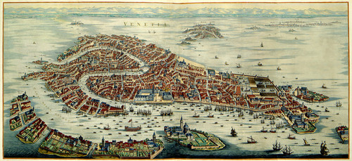 art prints of view of the town of venice 1704 by pieter mortier