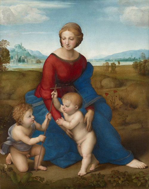 Art Prints of Madonna in the Meadow by Raphael Santi