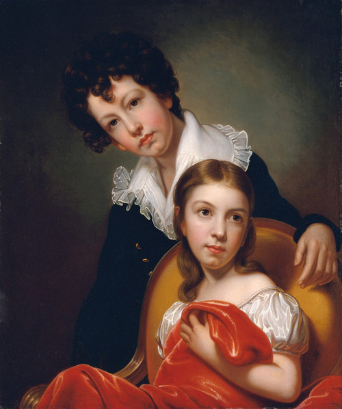 Art Prints of Michael Angelo and Emma Clara Peale by Rembrandt Peale