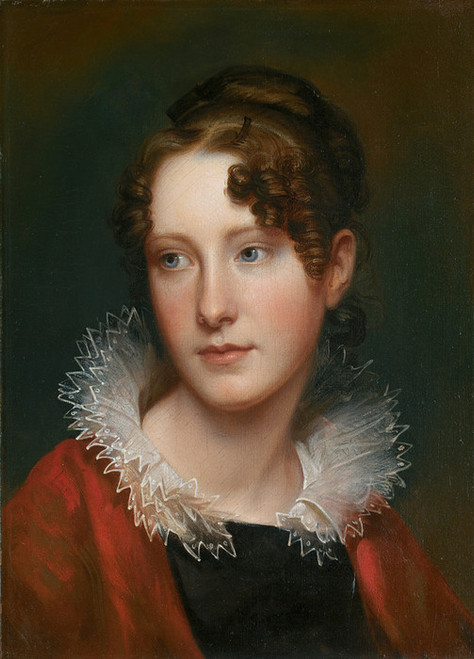 Art Prints of Portrait of Rosalba Peale by Rembrandt Peale