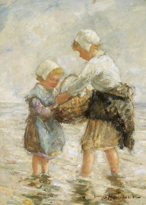 Art Prints of In the Shallows of the Shore by Robert Gemmell Hutchison