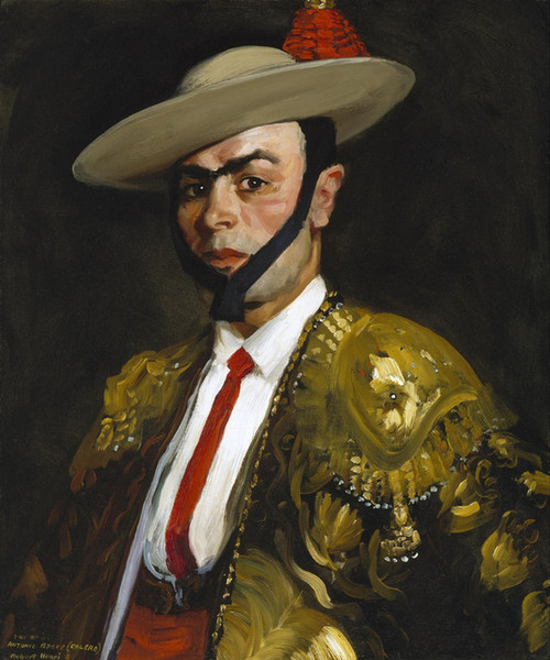 Art Prints of Calero Antonio Banos by Robert Henri