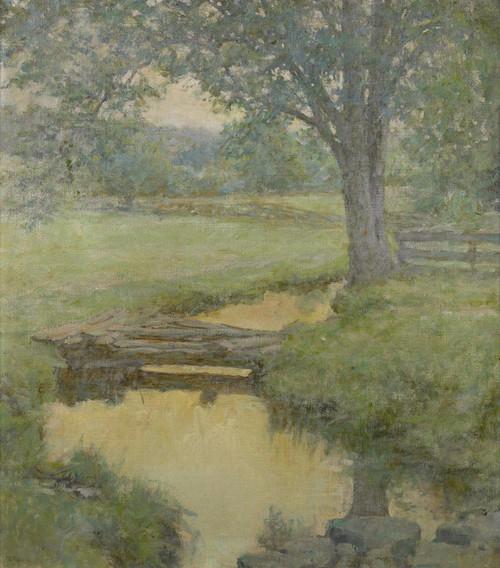Art Prints of Golden Stream in the Forest by Robert Lewis Reid