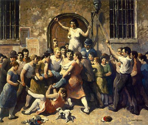 Art Prints of Mob Vengeance by Robert Spencer