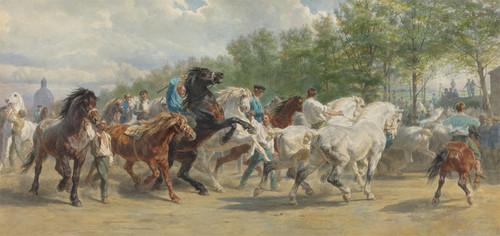Art Prints of Horsefair by Rosa Bonheur