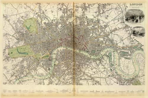 Art Prints of Great Britain, London, 1836 (0890183), Great Britain Map