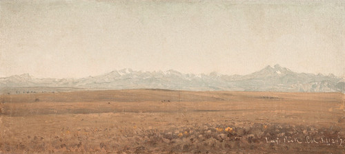 Art Prints of Longs Peak, Colorado by Sanford Robinson Gifford