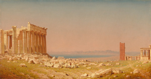 Art Prints of Ruins of the Parthenon by Sanford Robinson Gifford