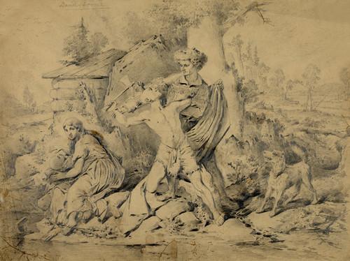 Art Prints of Daniel Boone (23155L) by Schik