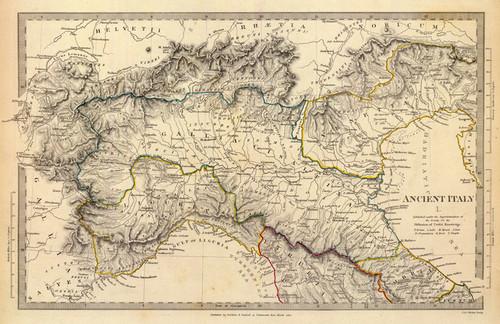 Vintage Map Fine Art Prints Encore Editions