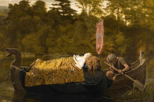 Art Prints of Elaine by Sophie Anderson