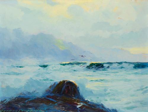 Art Prints of Alaska's Mist Shrouded Coast by Sydney Laurence