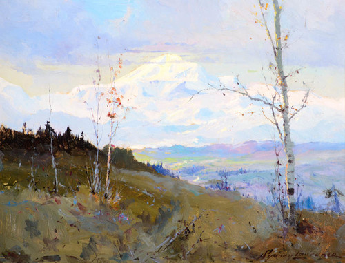 Art Prints of Mt. McKinley from the Susitna Valley by Sydney Laurence
