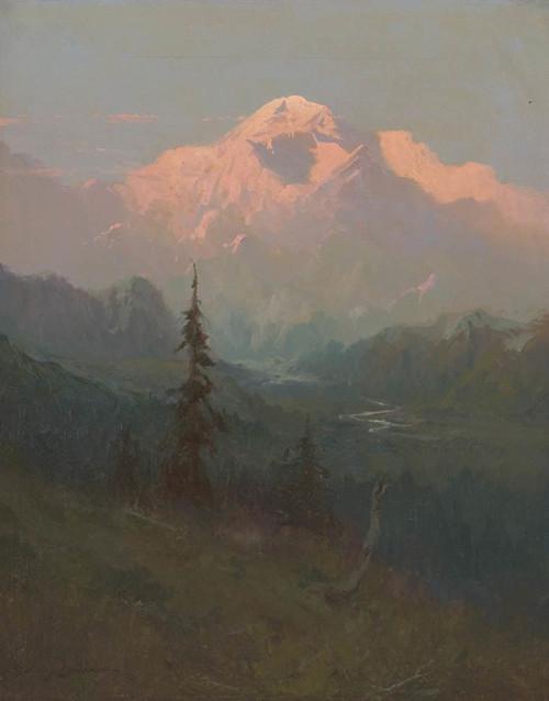 Art Prints of Mt. McKinley VII by Sydney Laurence