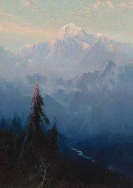 Art Prints of Mt. McKinley XI by Sydney Laurence