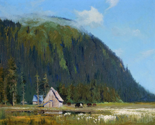 Art Prints of Near Juneau Alaska by Sydney Laurence
