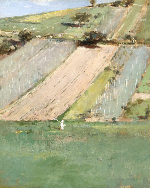 Art Prints of Lacma Valley of the Siene, Giverny by Theodore Robinson