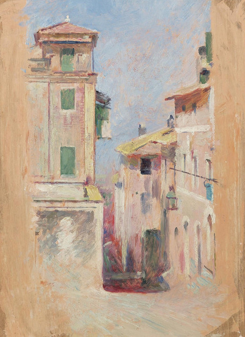 Art Prints of Mediterranean View by Theodore Robinson
