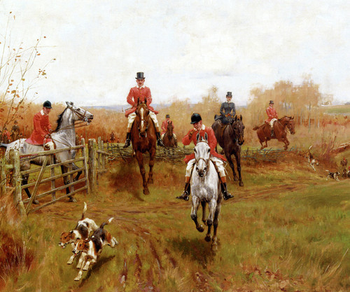 Art Prints of Over the Fence by Thomas Blinks