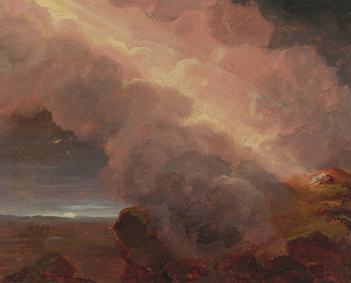 Art Prints of Clouds on the Mountaintop by Thomas Cole