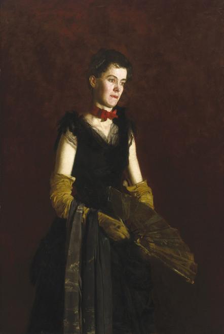 Art Prints of Letitia Wilson Jordan by Thomas Eakins