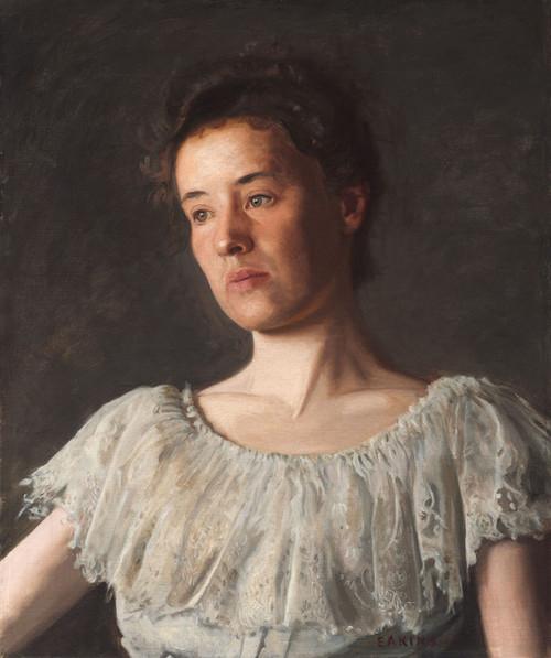 Art Prints of Miss Alice Kurtz by Thomas Eakins
