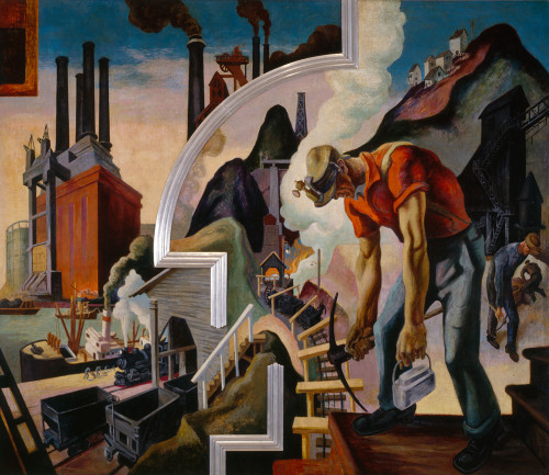 Coal by Thomas Hart Benton | Fine Art Print