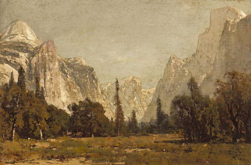 Art Prints of A View of Yosemite Valley by Thomas Hill
